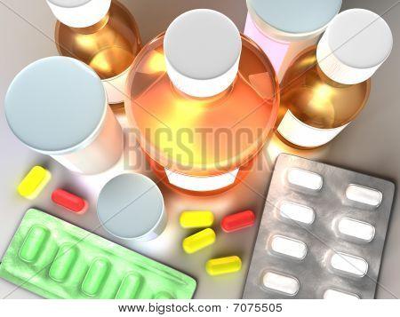 Colorful Medicine Concept