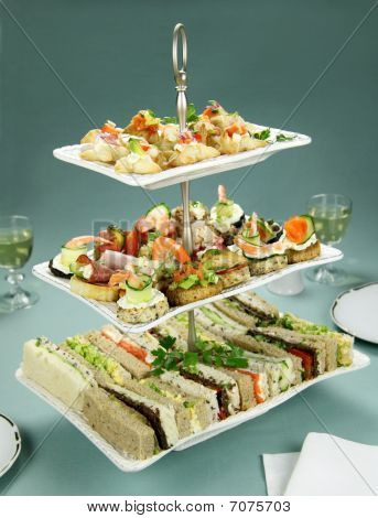 Tower Of Finger Food