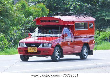 Red taxi chiangmai