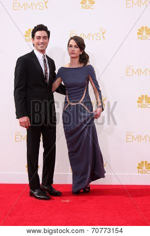 LOS ANGELES - AUG 25:  Ben Feldman at the 2014 Primetime Emmy Awards - Arrivals at Nokia Theater at LA Live on August 25, 2014 in Los Angeles, CA