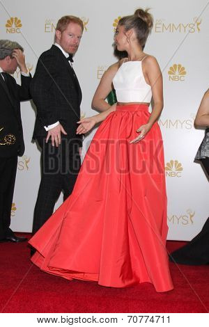 LOS ANGELES - AUG 25:  Sarah Hyland at the 2014 Primetime Emmy Awards - Press Room at Nokia Theater at LA Live on August 25, 2014 in Los Angeles, CA
