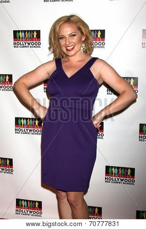 LOS ANGELES - AUG 23:  Beth Henley at the Hollywood Red Carpet School at Secret Rose Theater on August 23, 2014 in Los Angeles, CA