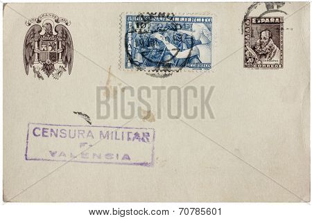 Spanish Postcard
