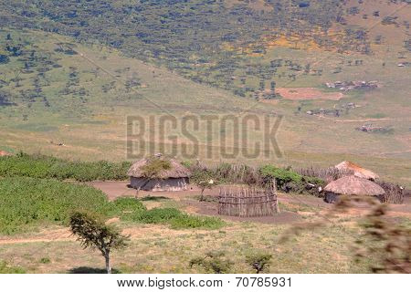 Small Maasai Village