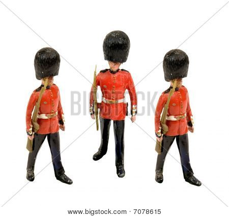 three tin soldiers