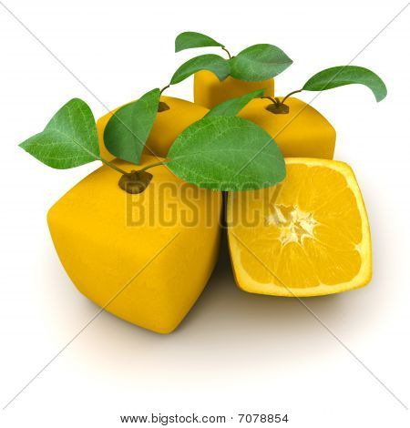 Group Of Cubic Oranges
