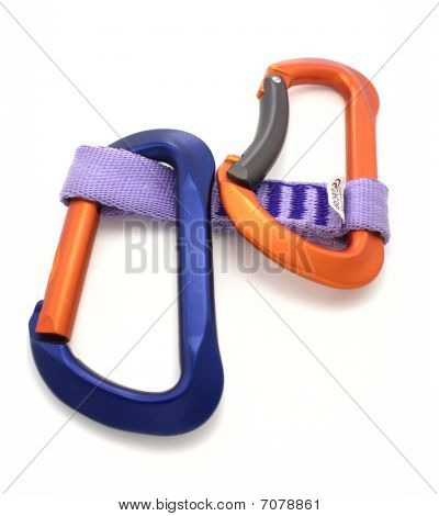 Carabiner and express