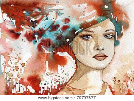 art woman