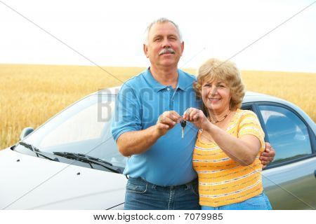 Elderly Couple. Seniors