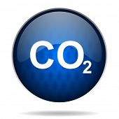 picture of carbon-dioxide  - carbon dioxide internet icon - JPG