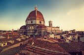 image of leonardo da vinci  - The Cathedral of Santa Maria del Fiore in the Italian city of Florence - JPG