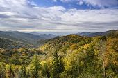 stock photo of gatlinburg  - Smoky Mountains in Tennessee - JPG