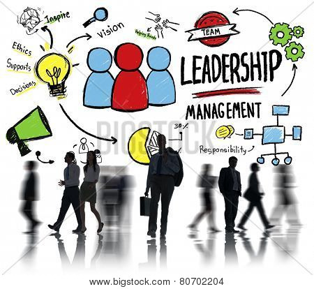 Business People Leadership Management Corporate Office Worker Concept