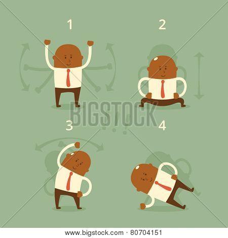 Business concept - workout