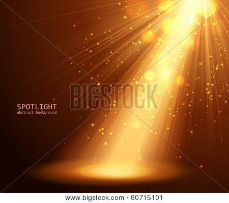 abstract spotlight background