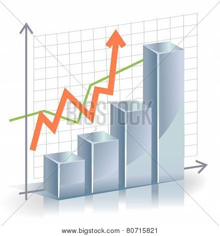 Business vector Graph