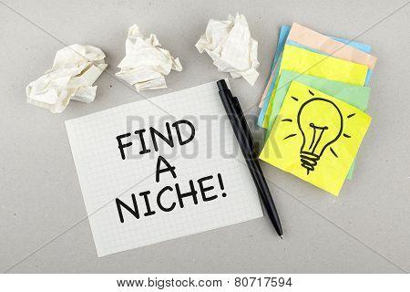 Find A Niche Note