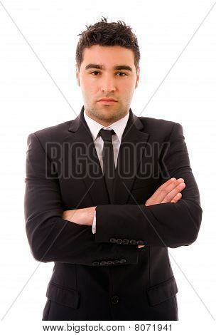 Retrato de homem de negócios