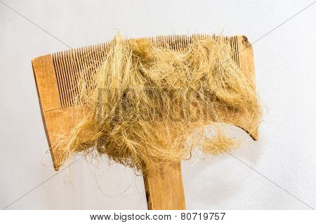 Wooden Comb.