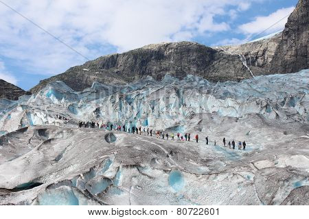 Nigardsbreen is a glacier in Norway.