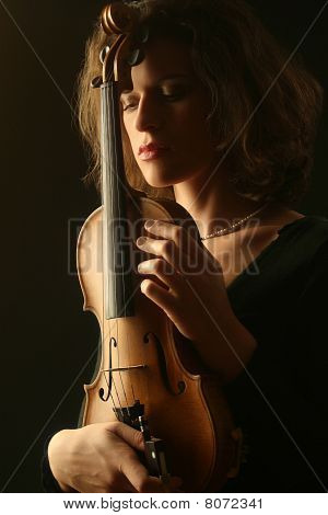 Portrait Of Violinist