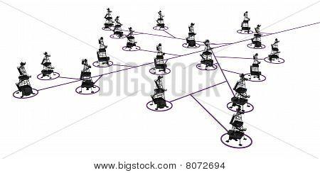 Oil Rig Link Branch