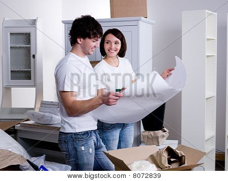 People Planning Of New Flat