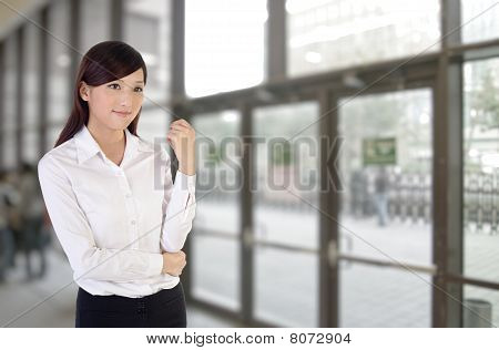 Business Woman Indoor