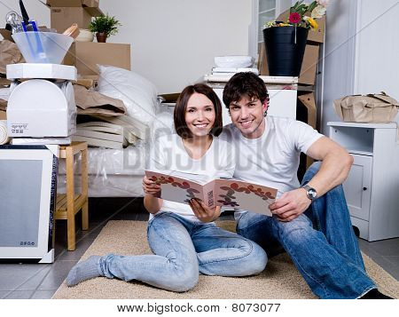 Couple With Photo Album