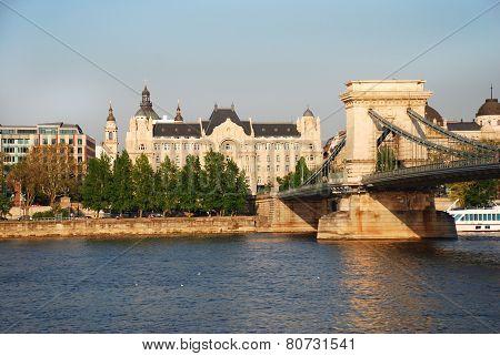 Gresham Palace in Budapest