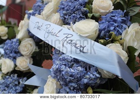 Wreath for Detective Rafael Ramos
