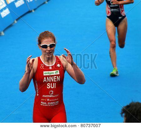 Jolanda Annen After The Race