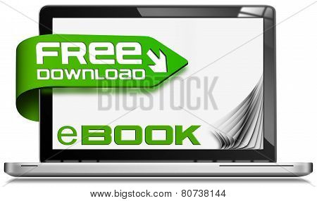 E-book Free Download - Laptop Computer