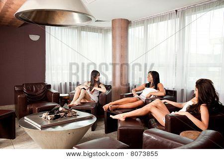 As fêmeas de fofoca Relax Spa