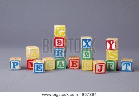 Children's Letter Blocks