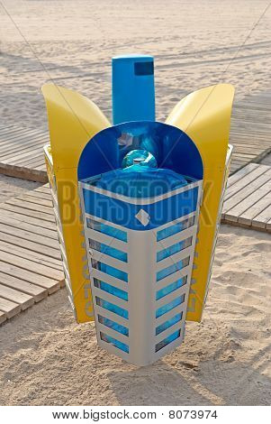 Recycling Even On Vacation