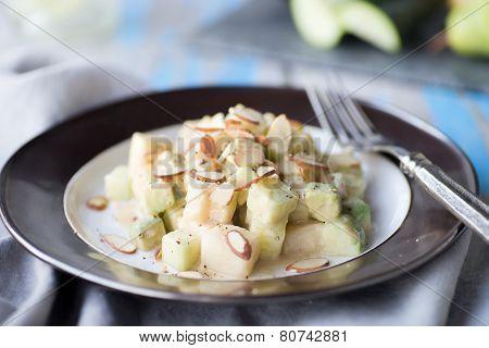 Cucumber Pear Salad