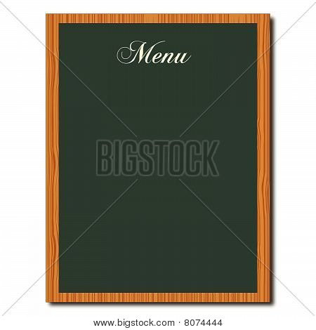 Green Chalkboard Menu