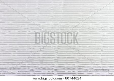 Corrugated White Cardboard