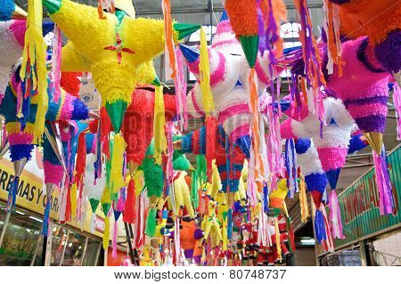 Mexican Holiday Pinatas