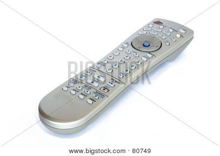 TV-Fernbedienung, die isoliert