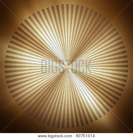 abstract metal pattern