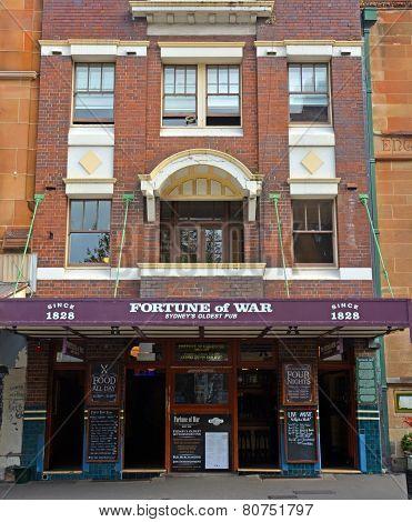 Fortune Of War - Sydney's Oldest Pub & Restaurant.