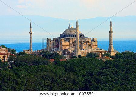 Hagia Sophia  Before Marmara Sea, Istanbul, Turkey