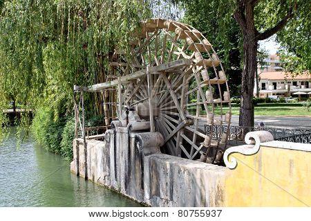 Medieval Waterwheel Watering