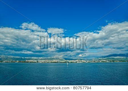 Sailing Split waters