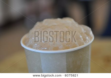 Root Beer Vanilla Ice Cream Float Bubbles Froth