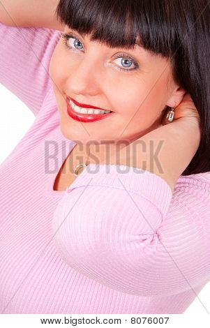 Portrait Of A Happy Mature Woman