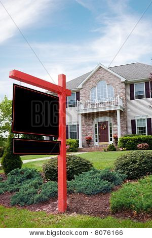Real Estate For Sale Sign