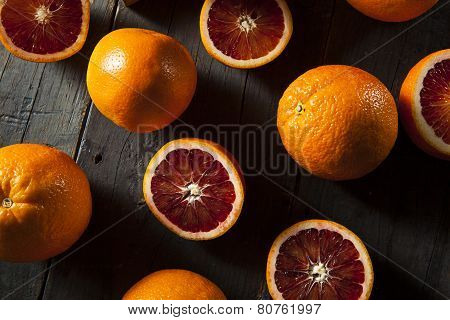 Organic Raw Red Blood Oranges